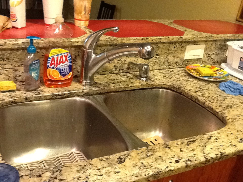 Раковина для мойки посуды, кошки и грудных детей